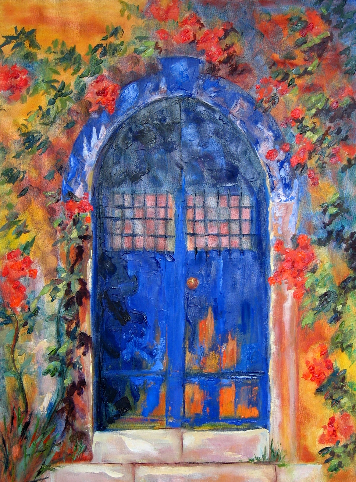 mallorca-door-oil-on-canvas-46cm-x-60cm