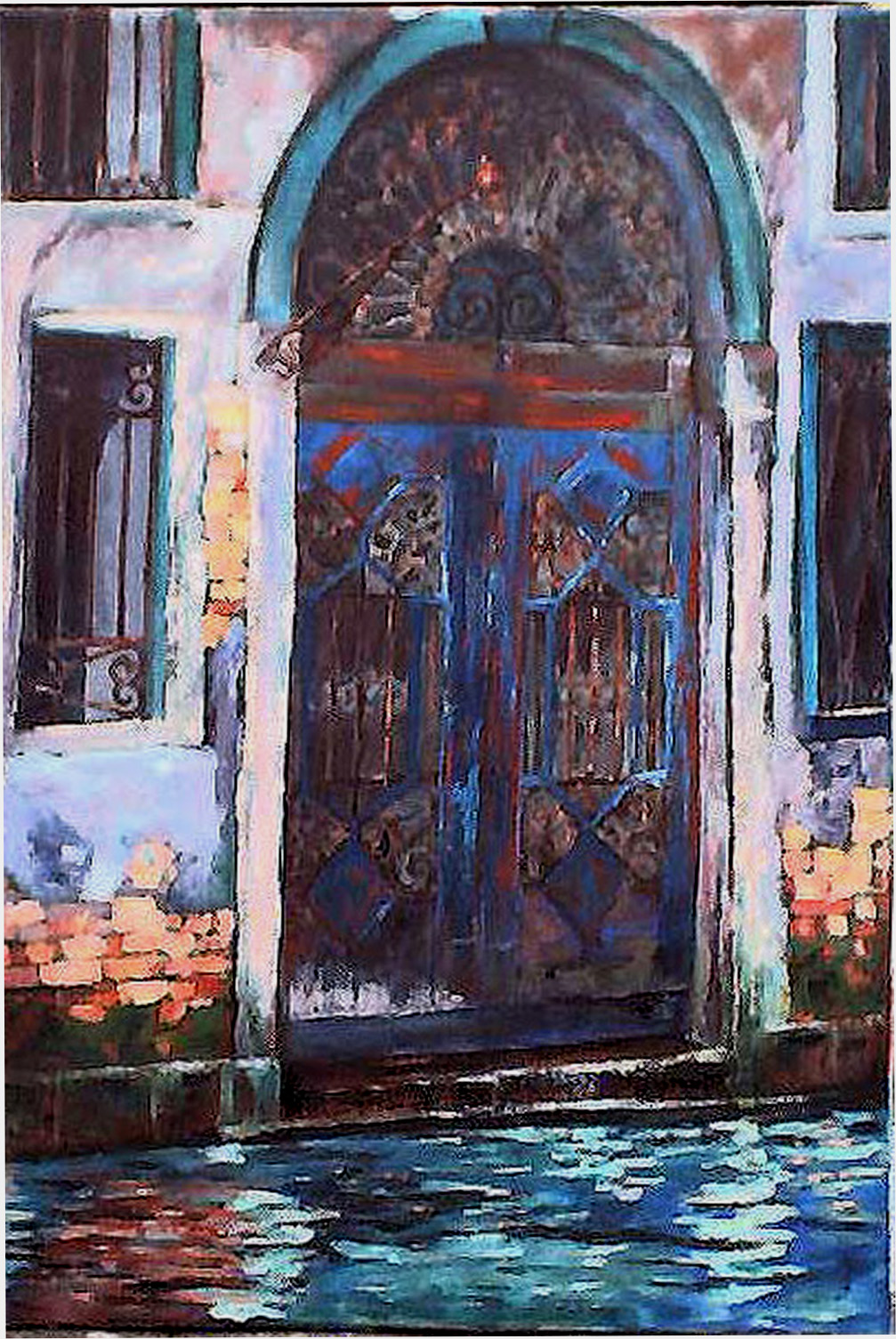 venice-door-oil-on-canvas-50cm-x-76cm